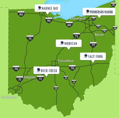 Kids Stay And Eat Free At Ohio State Park Lodges Inacents: Ohio State Parks Map At Slyspyder.com