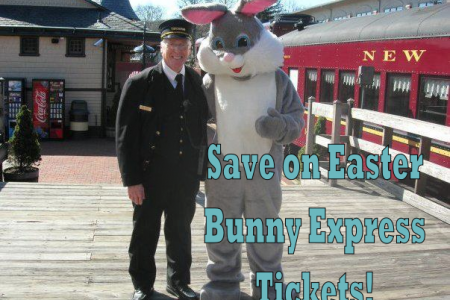 Discounted Tickets for Easter Bunny Express...