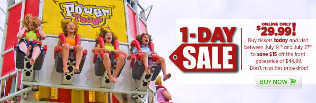 Valley fair discount coupons