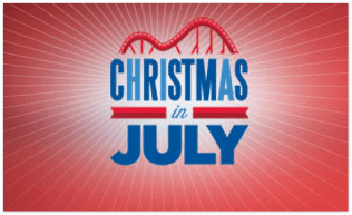 Cedar Fair 2014 Christmas in July Sale (TODAY...