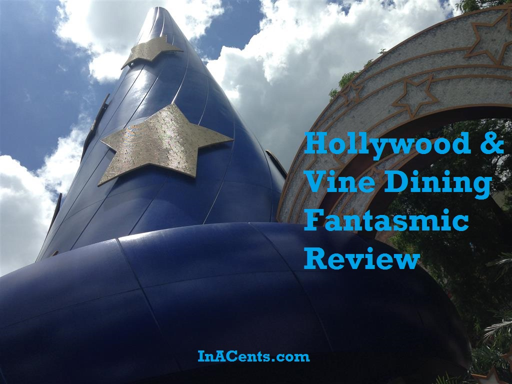 Hollywood Amp Vine Dining Fantasmic Package Inacents Com