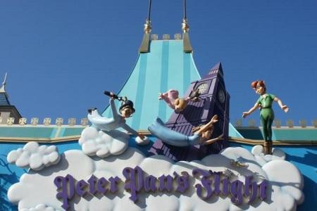 Disney World Peter Pan Ride