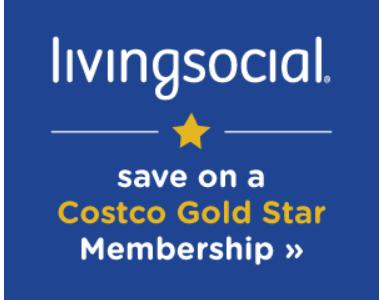 Costco New Member Bonus on Living Social