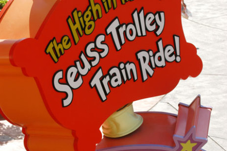 Universal Studios High in the Sky Trolley...