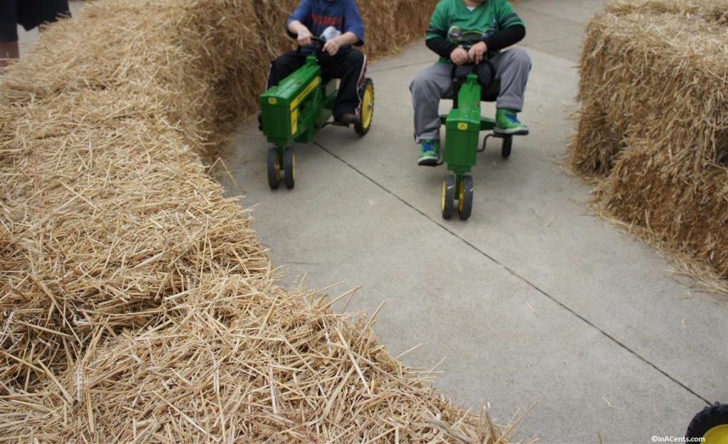 140912 Cedar Point Halloweekends John Deere Pedal Cars