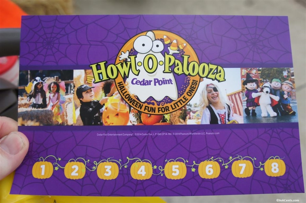 140912 Cedar Point Halloweekends Trick-or-Treat Card