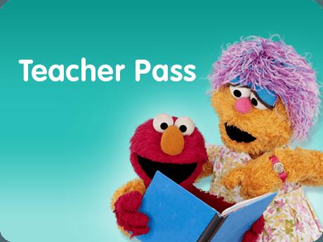 Sesame Place TeacherPass