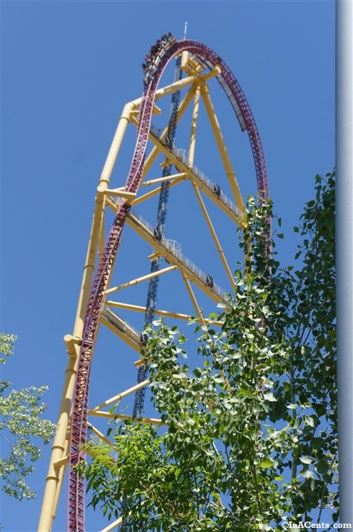 140524 Cedar Point Top Thrill Dragster