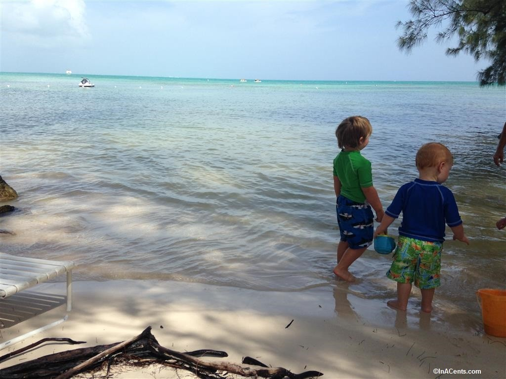 150701 Rum Point, Grand Cayman with Kids