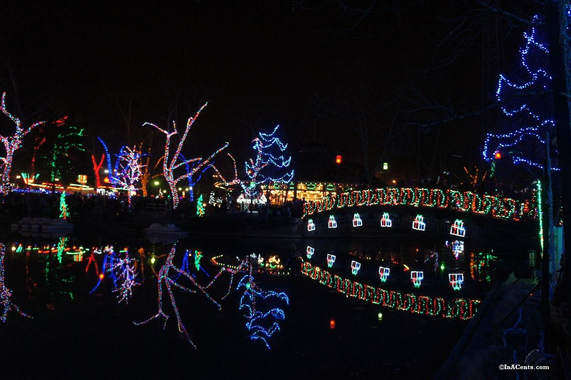 Kennywood Holiday Lights - InACents.com