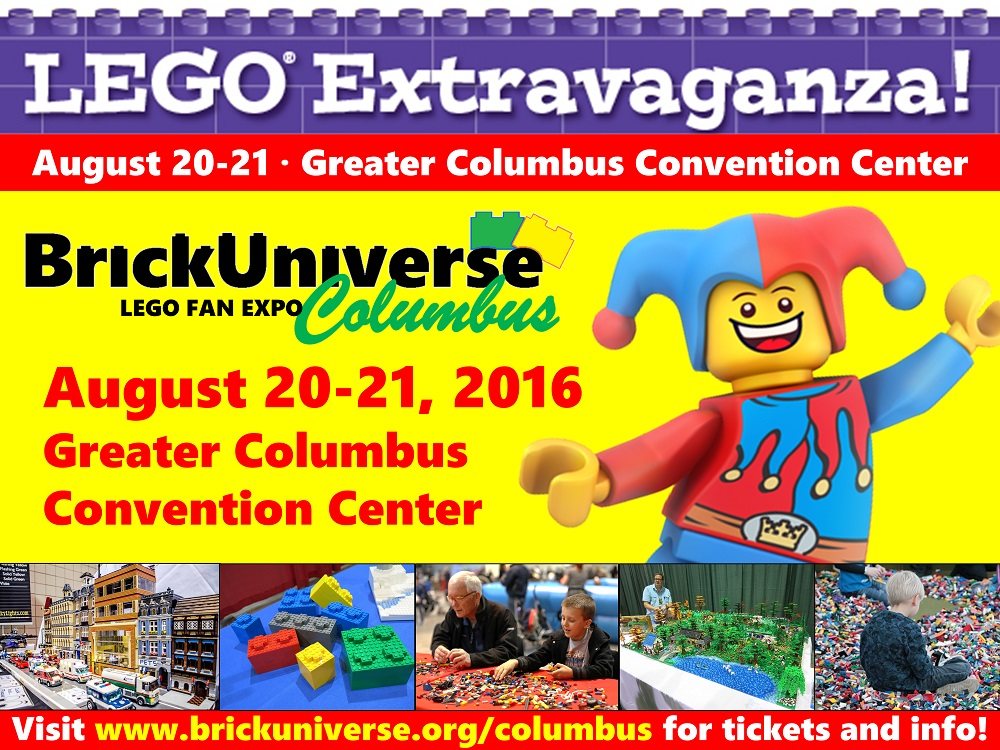 Giveaway: LEGO BrickUniverse Convention (Columbus, OH)