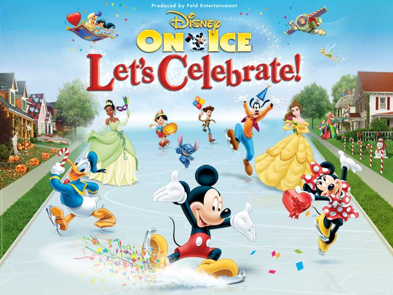 Review Disney on Ice Let's Celebrate - InACents.com