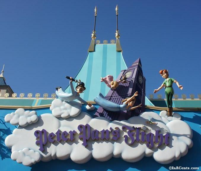 Disney World Peter Pan Ride Inacents Com
